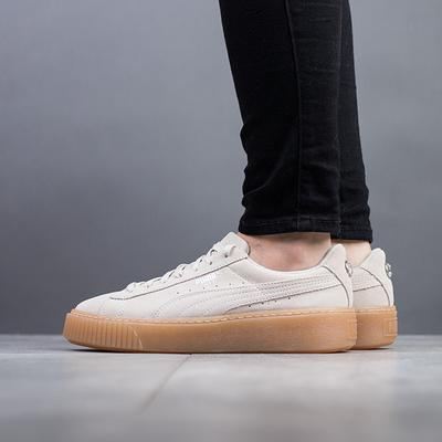 02736891 Puma Suede Platform Jewel Jr Whisper White 249.00 | Kixpoint