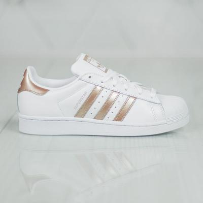 Adidas Superstar Shoes (FTWR WhiteLegend Purple), Women's